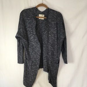 Sweaters - Long blue cardigan. Size os